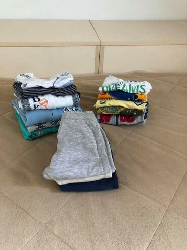 Dečija odeća i obuća - Smederevska Palanka: Paket odece za decaka 74-80