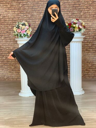 palto razmer 46 в Кыргызстан: Джильбаб химар + юбка размер 46/48/50/52
