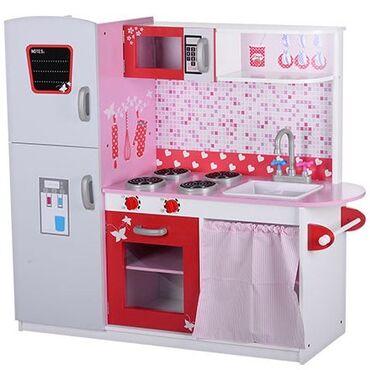 """детские платья купить в Азербайджан: Детская деревянная кухня !Этот красивый Игровой набор """"Кухня"""" из"""