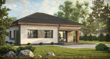 дом на колесах цена бишкек в Кыргызстан: Строительство 1 этажного дома под самоотделку (ПСО).Этажность: 1