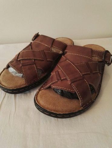 Сандалии и шлепанцы в Кыргызстан: Мужская обувь. кожа. 2500 сом.  размер 41