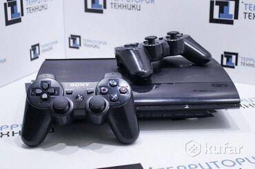 Видеоигры и приставки - Кыргызстан: Продаю playstation 3 супер slim 500 гб прошитый 2 джойстика новых 30