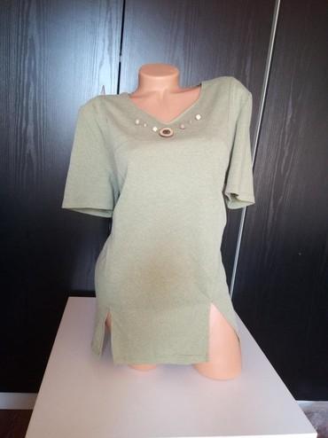 Košulje i bluze | Prokuplje: Zelena bluza bez oštećenja kao nova. Velicina L/XL