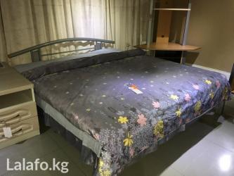 Кровать новая производства Германии (1800х2000)-МДФ (цена без в Бишкек