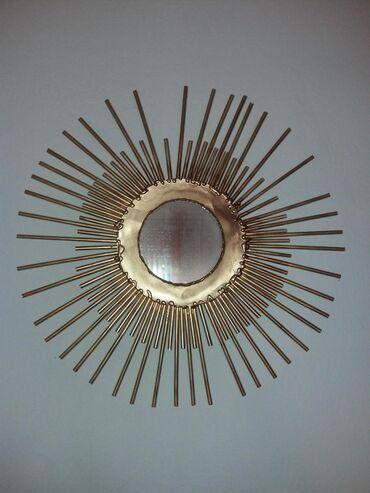 Kućni dekor - Mladenovac: Ručno izrađeno ogledalo sunce. Za sve informacije pošaljite poruku