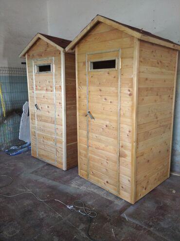 вагонка бишкек in Кыргызстан | ГРУЗОВЫЕ ПЕРЕВОЗКИ: Деревянный уличный туалет в наличии. Обшивка вагонка лиственница