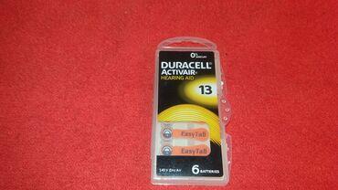 Slusni aparat - Beograd: Duracell ZA13 baterije za slusni aparat pakovanje 6komRok trajanja do