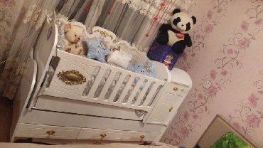 детская одежда 2 года в Азербайджан: Çarpayı uşağ, детская кровать