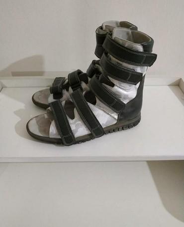Ортопедические кожаные сандалии. Размер: 40 Вотсап