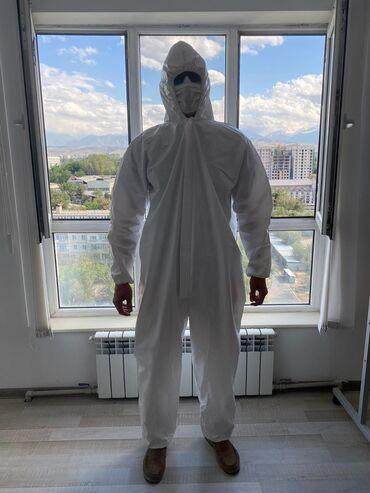 Медицинский костюм! Защитный костюм! Комбинезон! Материал SFПродаю