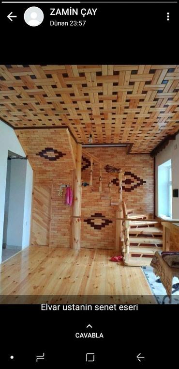 Работа в Лиман: Taxtadan pilləkanların yığılması. Hər zövqə uyğun