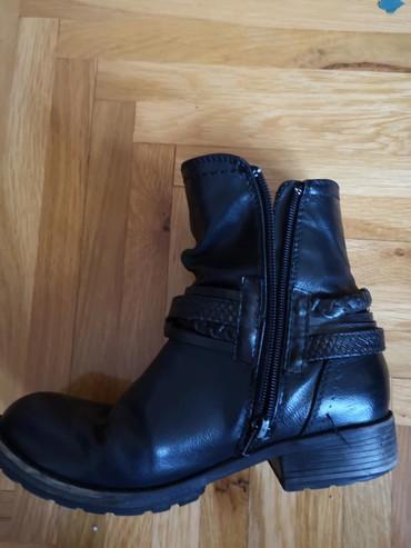 Dečije Cipele i Čizme | Zabalj: Tom Tailor kozne cizmice Veličina 35
