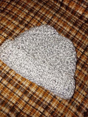 Шапку-для-девочки - Кыргызстан: Продам зимнюю вязанную шапку в отличном состоянии