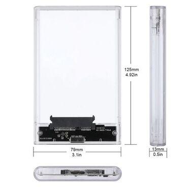 """Mobile Rack--External case 2.5"""" HDD-SSD USB3.0 (кейс для жесткого"""
