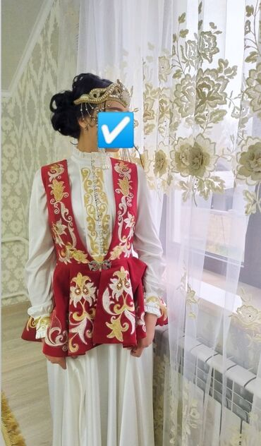 tufli s kamushkami в Кыргызстан: Шикарное платье с желеткой на Кыз узатуу, ручная работа, качество