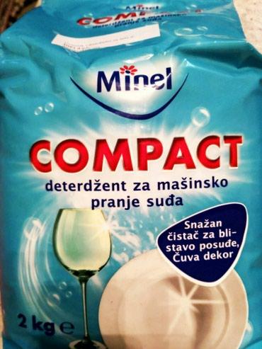 Masina za pranje sudova - Srbija: COMPACT, Minel prasak za masinsko pranje sudova, 2kgMinel
