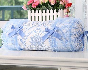 "декоративные наволочки на подушки в Кыргызстан: Подушка ""конфета"",размер 60 см х18 см. (наволочка + подушка)"