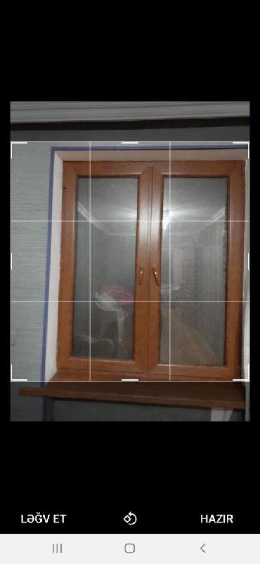 plastik kapi pencere - Azərbaycan: 2 eded pencere.5 ayin penceresidi