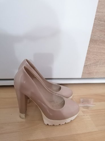 Ženska obuća   Leskovac: Krem cipele, 38 broj