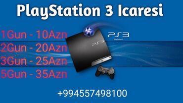 Salam Biz Size Oyun Konsollarinin İcaresini Teqdim Edirik  PlayStation