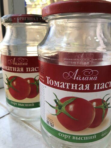 стеклянные банки бишкек in Кыргызстан | ДРУГАЯ ПОСУДА: Продаю стеклянные банки из под томата «Айлана»