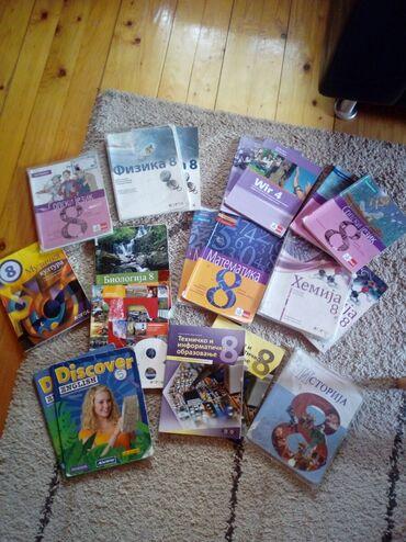 Knjige, časopisi, CD i DVD | Pancevo: Udzbenici i radni listovi za 8. razred
