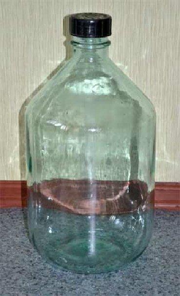 термокега 25 литр в Кыргызстан: Продаю стеклянный бутыль с крышкой РЕАХИМ 20 литр!