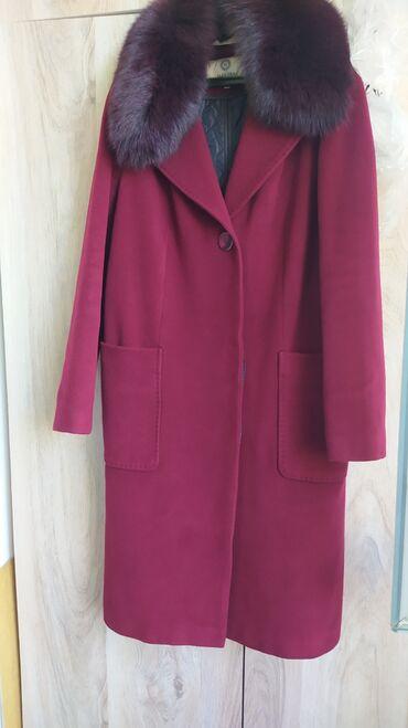 Продаю зимние пальто российского производства размер 48. Цвет красное