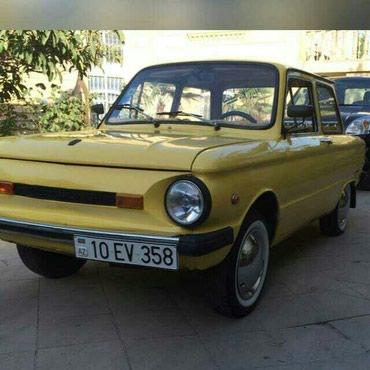 Bakı şəhərində ZAZ 968 Zaporozhec 1988