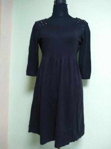 туника 42 размера в Кыргызстан: Платье или туника, тонкая шерсть, размер 42-44-46, можно как тунику