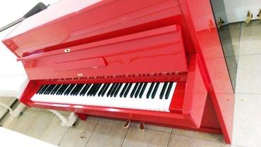 Bakı şəhərində İstenilen rengde ve modelde Pianinolarin satishi