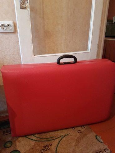 Срочно продаю кушетку-чемодан. Состояние 10/10. Цена 5000сом. в Бишкек