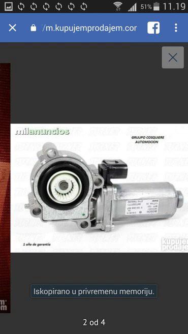 Bmw x6 m50d servotronic - Srbija: Zupcanik reduktora menjaca Bmw X3,X5,(2003-2009)