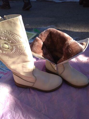 кирзовые сапоги бишкек в Кыргызстан: Сапоги зимние,практически новые36-37 размер,очень теплые и