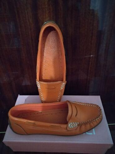 Балетки кожаные производство Турция, размер 37