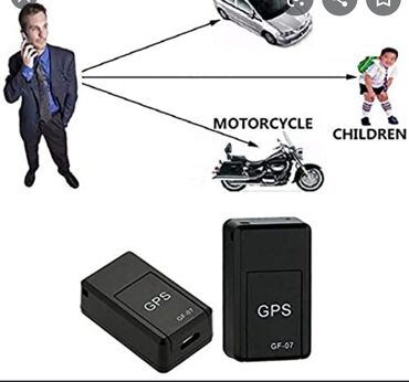 gps навигатор pioneer в Кыргызстан: Миниатюрный GPS трекер модели GF-07 предназначен для охраны вашего