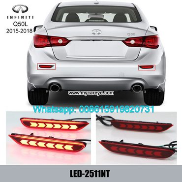 Infiniti Q50L Car LED running Bumper Brake Parking Warning LED Lights in Tīkapur
