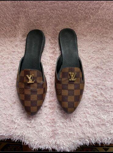 Мюли новые Луис Виттон Louis Vuitton 38 размер, очень удобные и мягкие