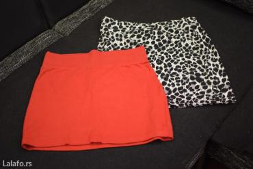Povoljno!! Suknja u zebra printu ,duzina 36cm,crvena caliopi 35 - Pozega