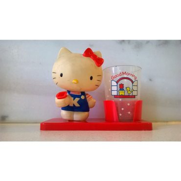 Άλλα παιδικά αντικείμενα - Ελλαδα: Hello Kitty's Θήκη οδοντόβουρτσας - Sanrio 1976Όμορφη θήκη για