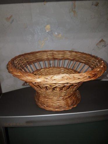 Продам красивую плетенную вазу можно под фрукты,под конфеты и т.д. Пис в Бишкек