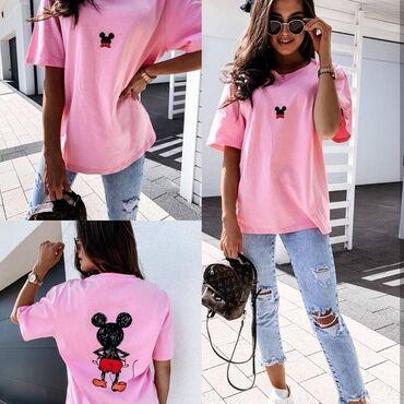 Majice NOVO!*Nova Kolekcija *Dostupne boje : roze, tirkiz
