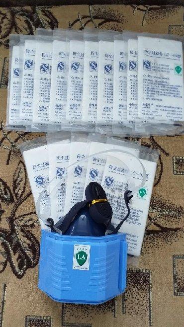 Распиратор от пыли. 10 запасных лепесков(фильтр) к нему