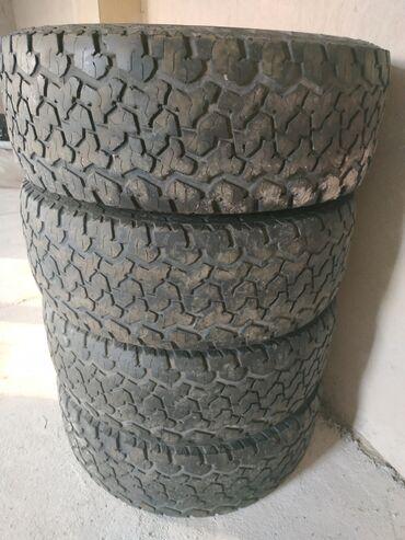 диски воссен 17 в Кыргызстан: Продаю шины на внедорожники  265/65 R17 Б/у              Резина колесо