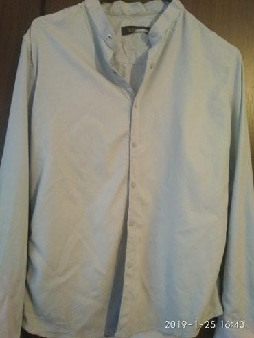 Рубашка турецкая в идеальном состоянии, почти новые L размер в Бишкек