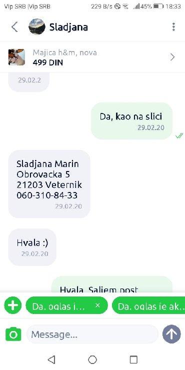 Haljine | Jagodina: PREVARANT!!!!Poručila majicu, nije htela da preuzme paket! Odbija