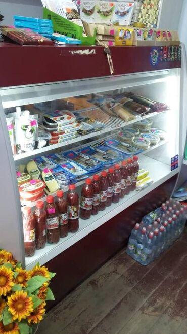 Б/у Холодильник-витрина Красный холодильник