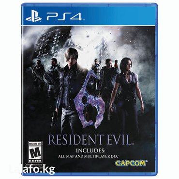 Resident evil 6 ps4 в Бишкек