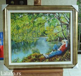 Ulje na platnu 60x50 cm uramljeno, boju rama birate (od ponudjen - Smederevo