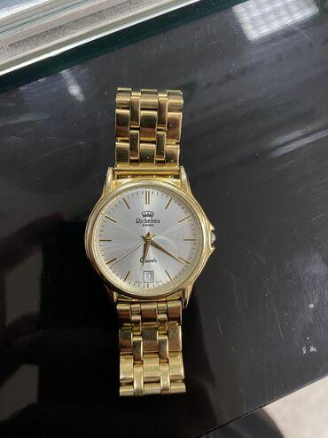 Золотистые Унисекс Наручные часы Richelieu